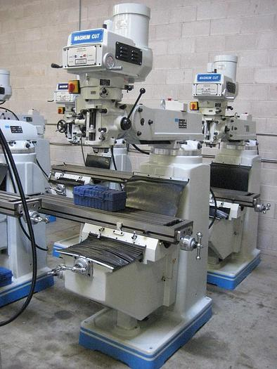 "10"" X 54"" ""NEW"" MAGNUM-CUT, MODEL 4VS, VERTICAL MILLING MACHINE"