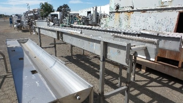 18'' Wide x 30' Long Stainless Steel Belt Bed #2319