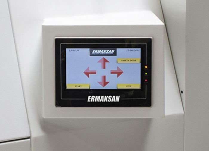 2019 2000 Watt Ermak Fibermak Gen-3 Fiber Laser Cutting Machine