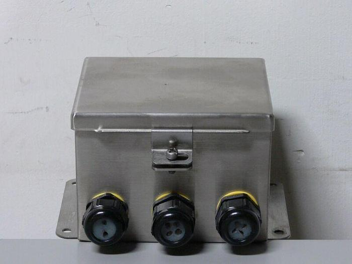 "Used Hoffman J BOX A606CHNFSS HINGED COVER 6"" X 6"" X 4"""