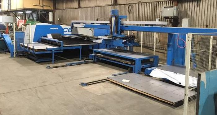 33 TON, FINN POWER C6, 2006, CNC TURRET PUNCH