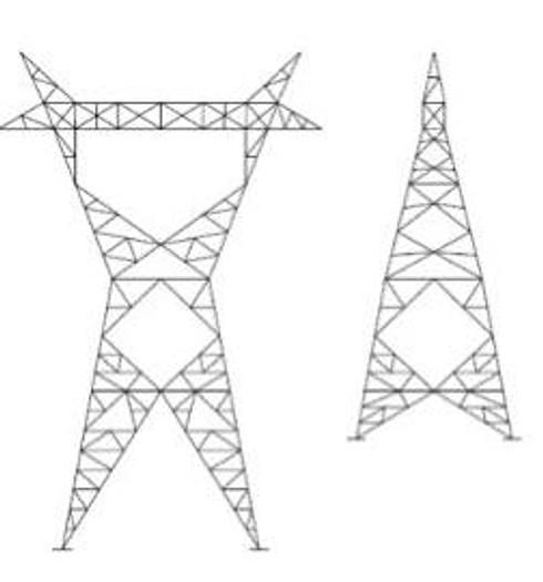 Tower/Frames - 240KV Dead End G‐Towers