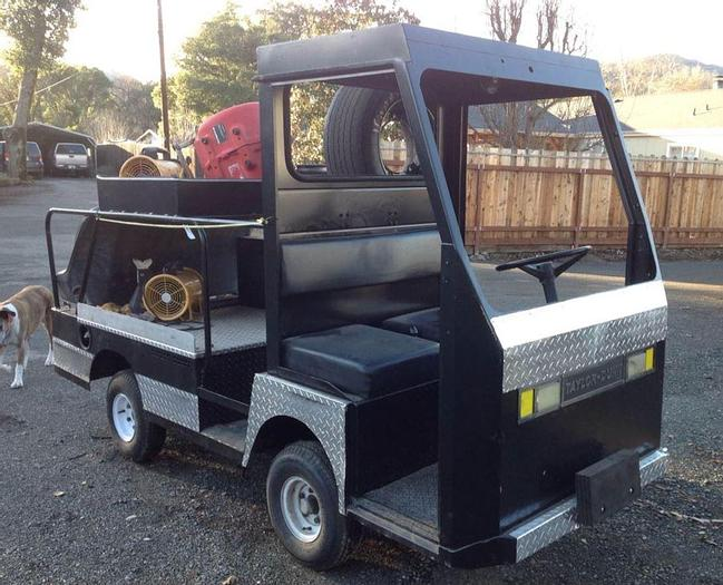 Used Taylor Dunn Pit Cart