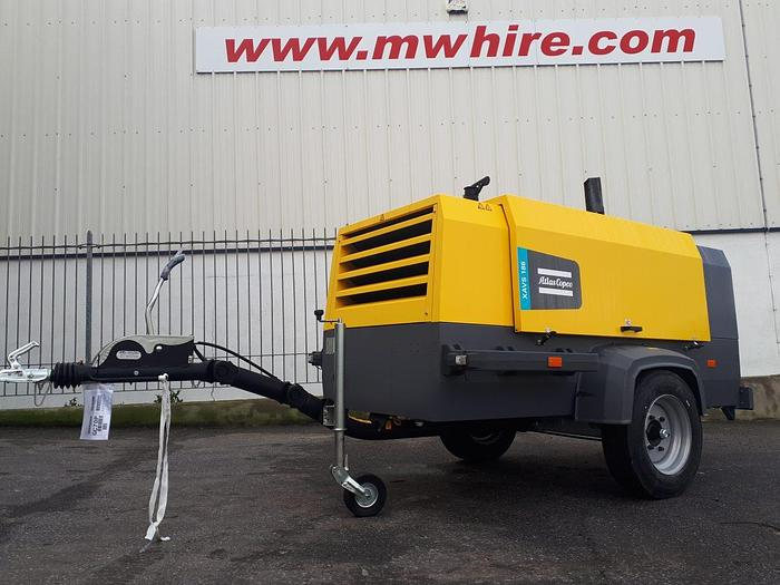 Used Atlas Copco XAVS 186