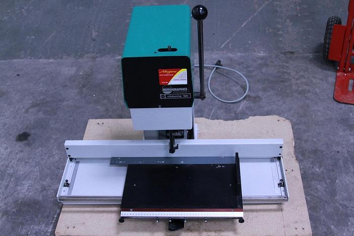 Used Nagel Citoborma 180 Paper Drill