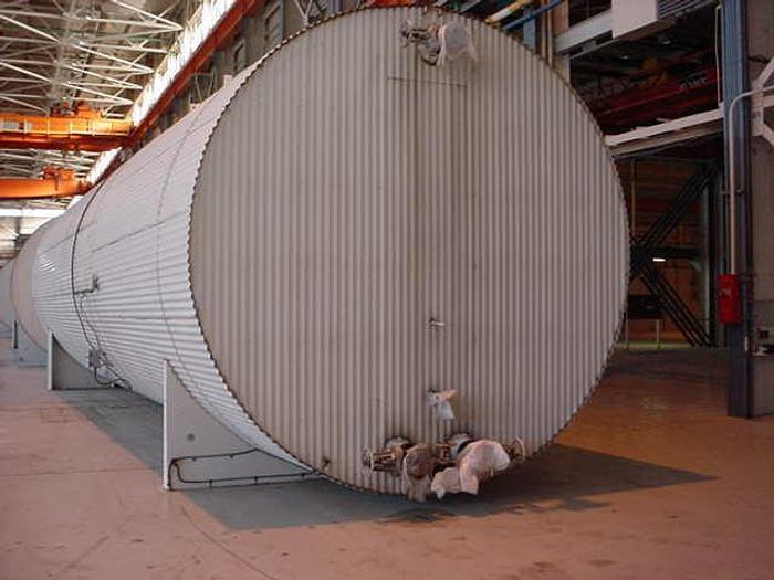 USED 44 400 GALLON TANK, CARBON STEEL, HORIZONTAL