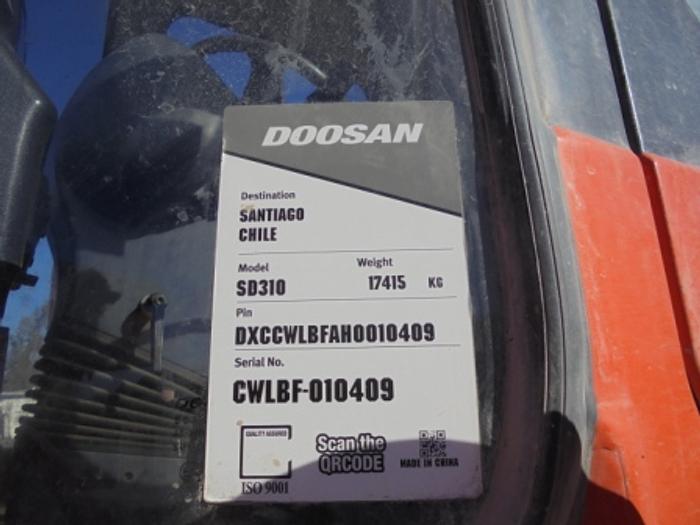 2017 DOOSAN SD 310