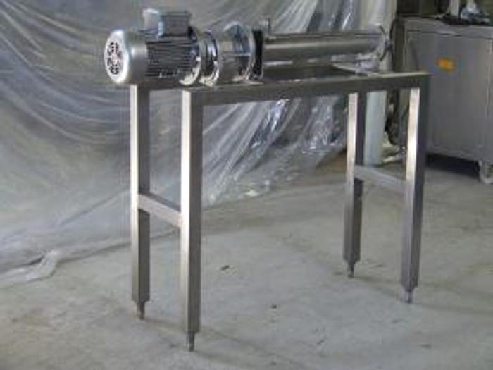 Używane Pompa ślimakowa INTER-PUMP DK-0 na nierdzewnej konstrukcji