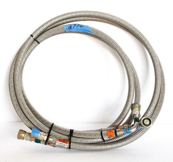 Used CTI Cryogenics 8043074G120, 071-04 Supply & Return Line, PSI 260 Lot of 2 (2770)
