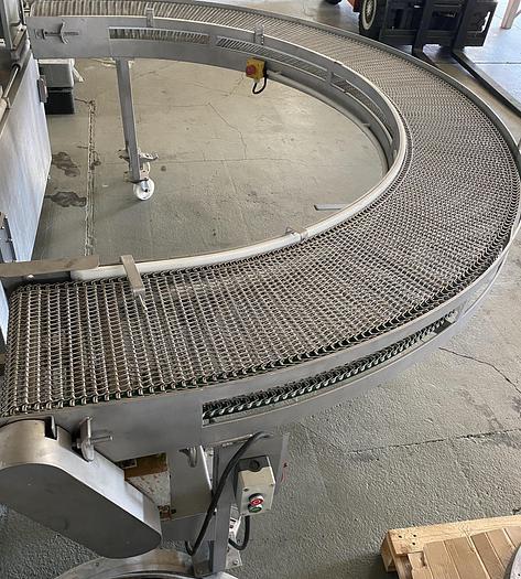 Gebraucht 180° Kurvenband