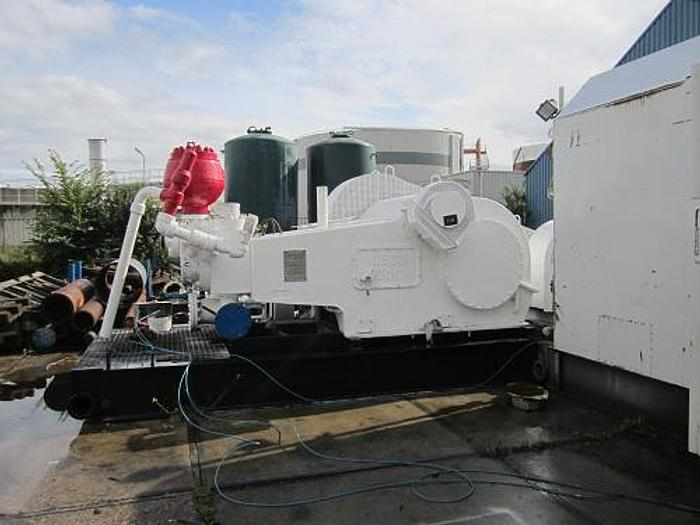 Mud Pumps, diesel or electric driven, and Ancillary Equipment