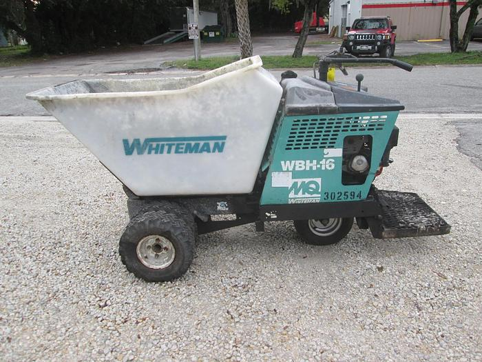 Used Whiteman WBH-16 Concrete Buggy