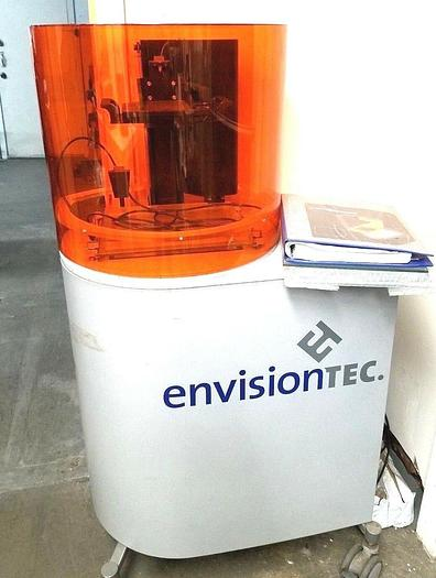 Used EnvisionTec P4 Standard 3D Printer Prototype Machine Perfactory II Mini SXGA