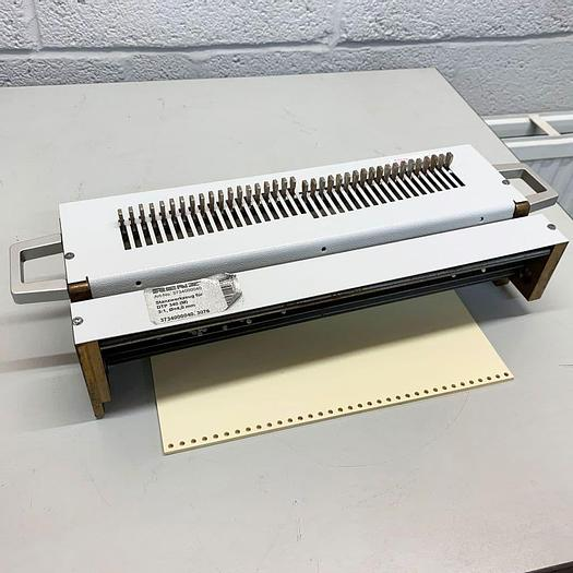 Used Pre-owned Renz DTP340A 3:1 Round-Hole Wire Tool Punch Die