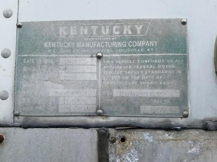 1998 KENTUCKY MOVER BOX