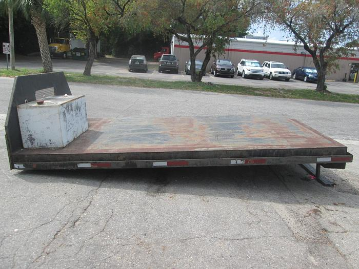Used 8'x14' Flatbed Fuel Tank Truck Bed