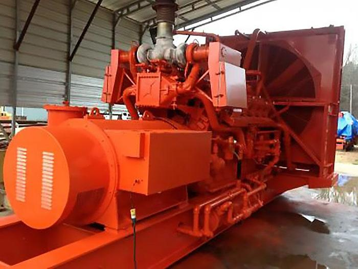 Used 2 MW Used Waukesha L7042GSI Natural Gas Generators