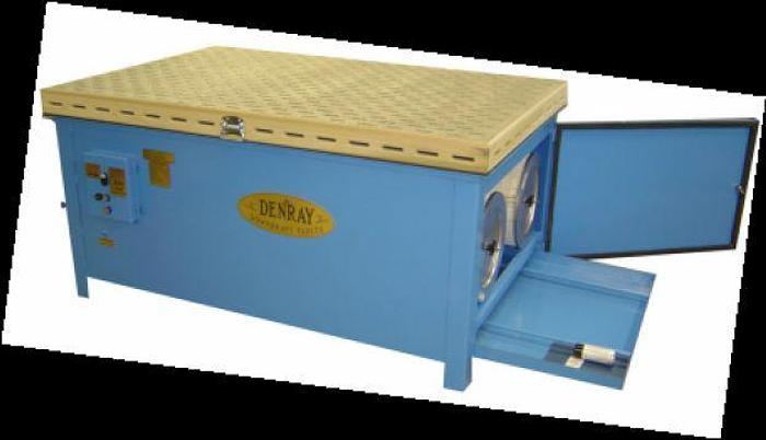 Used Denray 7200B Downdraft Table, Push Button Cleaning