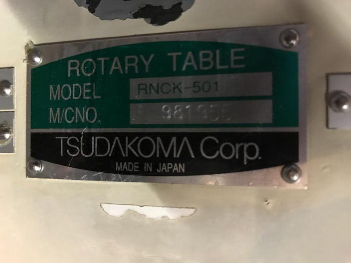 Tsudakoma RNCK 501 4th axis #1631