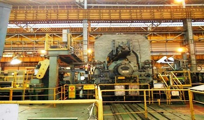 Used 1350 mm Steel Skin Pass 4-Hi Cold Rolling Mill: RM-448
