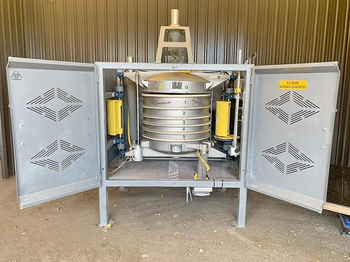 Used USED GREAT WESTERN TB QA/36-5 IN-LINE GYROSCOPIC PRESSURE SIFTER