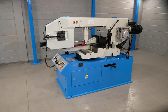 Mach-Cut 460 Semi automatic double Mitre Bandsaw