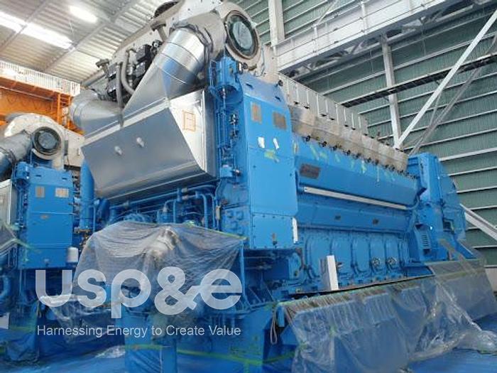 7 MW 2020 New Rolls Royce B32:40V12A Diesel Generator