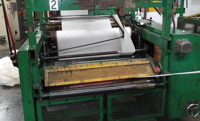 "Used 36"" CMD Bag Machine BM 1510 serial number 4788 mfg late 1980's"
