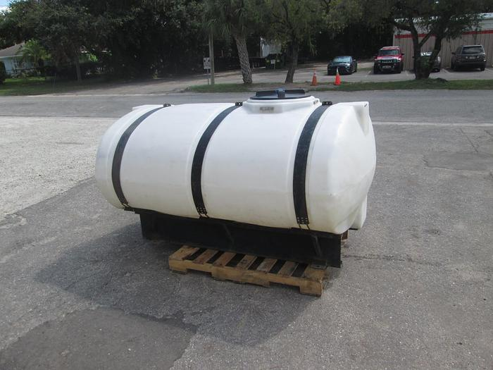 Used 500 Gallon Elliptical Tank With Saddle and Bands