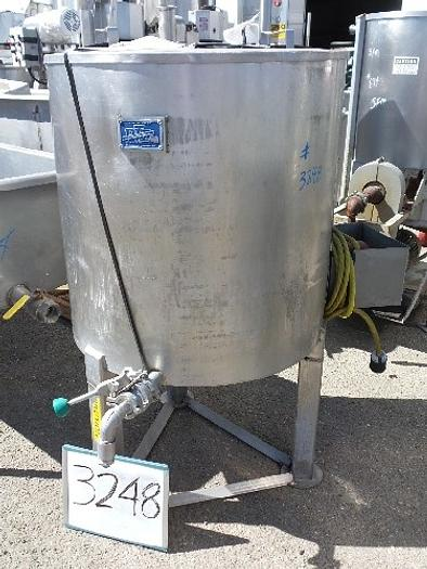 PTI 90 Gallon Vertical Stainless Steel Tank #3248