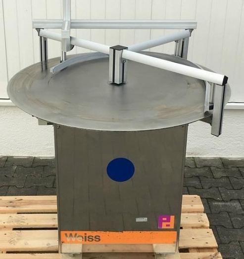Used P 12494 D - Rotary Table 1.0 M Ø WEISS