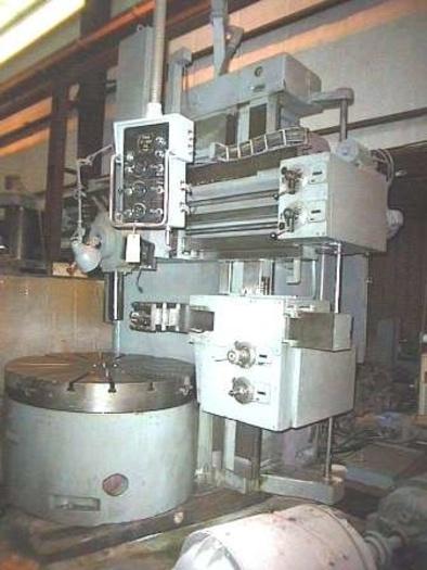 "57"" FUMA SC1600 VBM, 57"" 4 Jaw Chuck, Turret & Side Head, 200 RPM, PLC & Pendant"