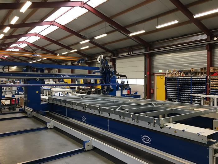 Steel Frame Automatic Nailing Bridge