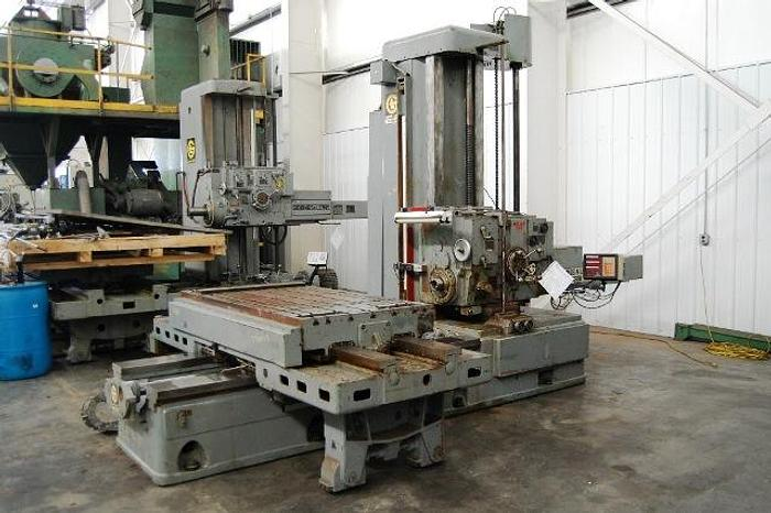 "Used 1969 Giddings & Lewis 4"" Manual Table Type Horizontal Boring Mill"