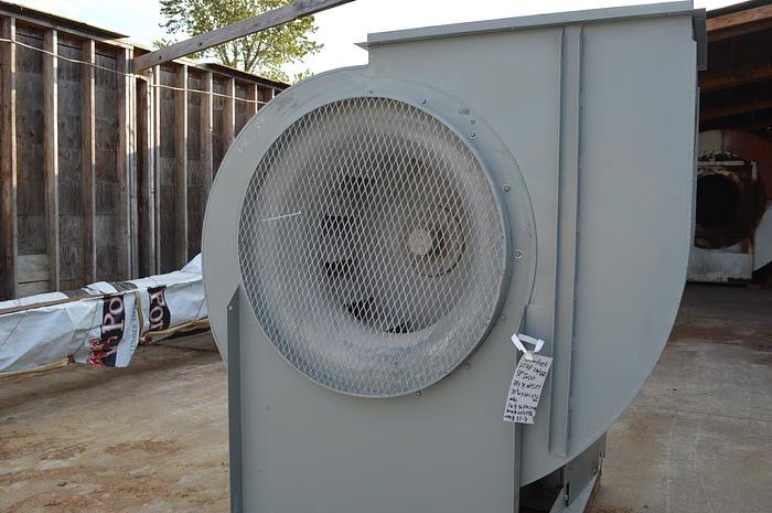Used 25 HP Greenheck fan, greenheck 25HP fan model # SWB-36-250-CW-UB