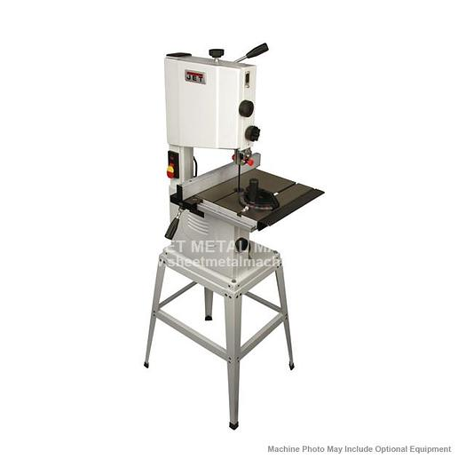 JET JWB-10 Benchtop Open Stand Bandsaw 714000