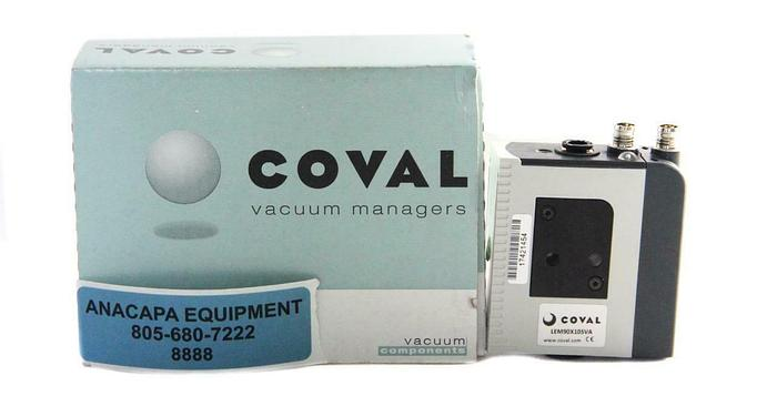 Coval Vacuum Managers LEM90X10SVA Mini Vacuum Pump Air Saving Regulator New 8888