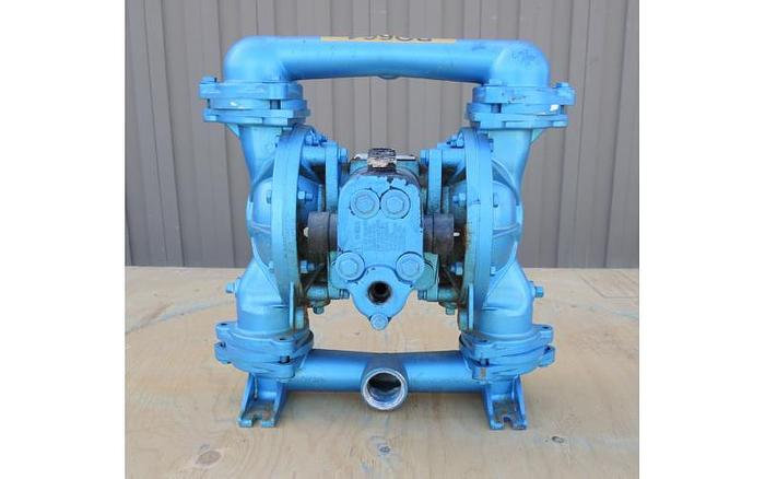 USED SANDPIPER DIAPHRAGM PUMP, STAINLESS STEEL