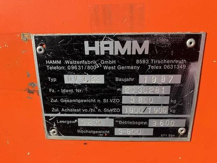 1987 Hamm DV 3.22