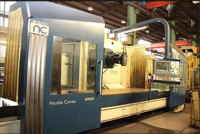 Refurbished Refurbished 2004 Correa CF 25/25 Bed Type Milling Machine