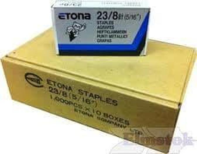Etona Staples 23/15 Boxed per 10,000