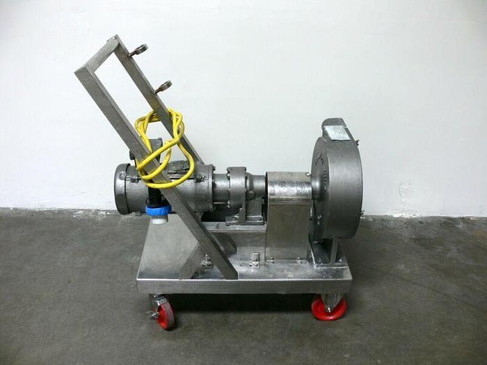 Used Randolph Peristaltic Hose Pump Model 880 w/ Baldor Motor