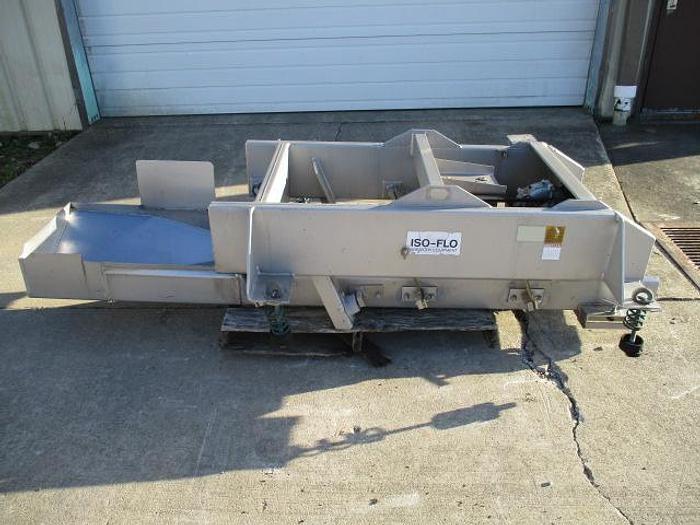 "Used Key Iso-Flow Conveyor, Md#406-307; 18"" wide x 76"" long"