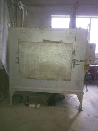 3pcs OVENS FOR THERMAL TREATMENTS 700, 1100 1250 degrees