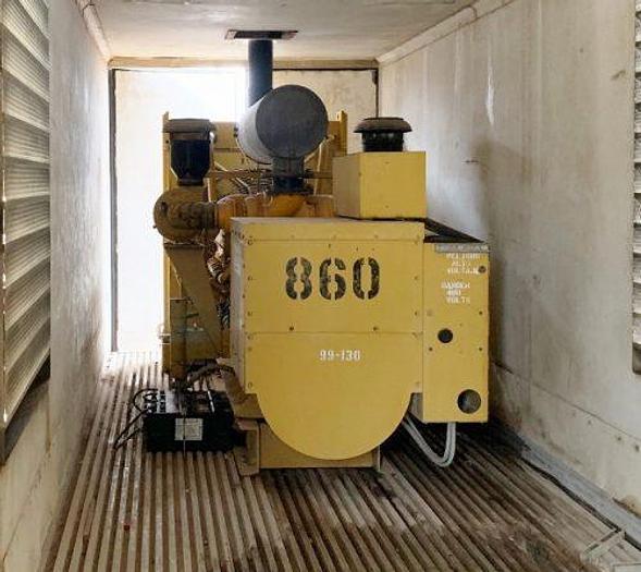 Used CAT 545/600 Complete Generator Setup