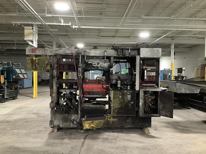 Used 1986 HUNTER HMP-20C AUTOMATED MOLDING MACHINE