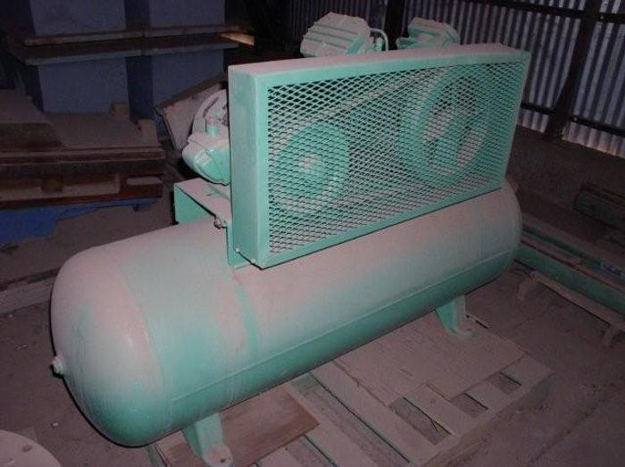 5 HP Ingersol Rand; Tank Type Air Compressor; Mdl. 424; S/N: 30T 618527