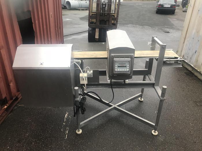 Used JOKI DENMARK A/S  OOTA belt conveyor with metal detector