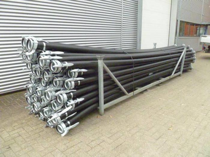 HDPE Leidingen met snelkoppel 110 x 5.3 , lengte 6