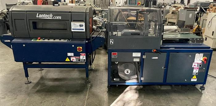 Used Lantech ST-700 Automatic Shrink Tunnel System